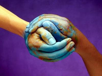 Unir as mãos pela Terra
